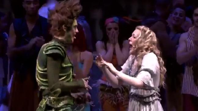 THE WORLD'S BEST MARRIAGE PROPOSAL – PETER PAN STYLE!