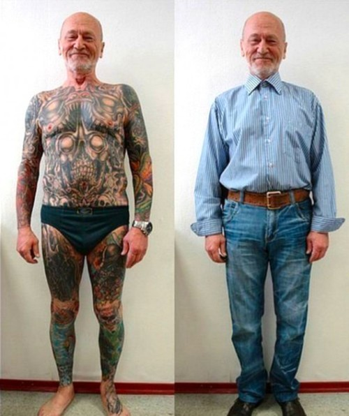Are your grandparents covered in awesome tattoos?
